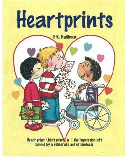 Valentine Books for Little Learners - Heartprints