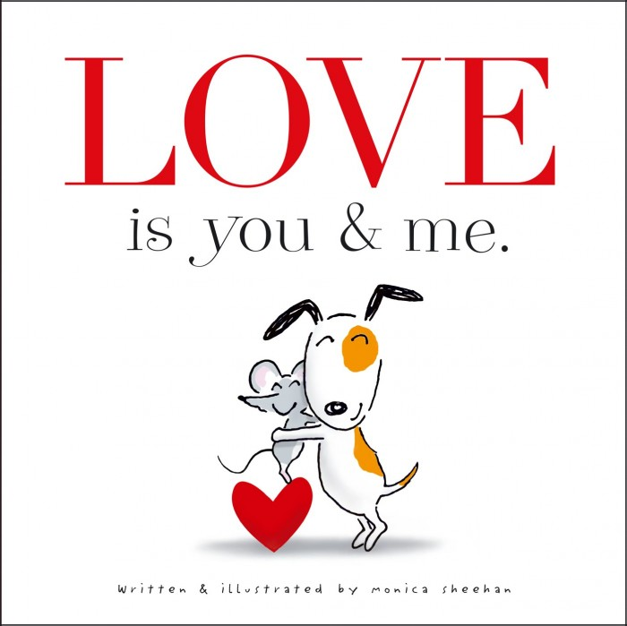 Valentine Books for Little Learners - Love is You and Me