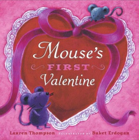 Valentine Books for Little Learners - Mouse's First Valentine