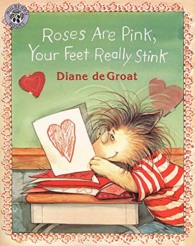Valentine Books for Little Learners - Roses Are Pink, You Feet Really Stink