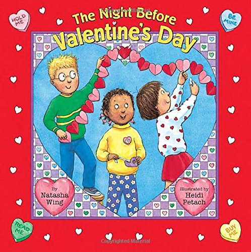 Valentine Books for Little Learners - The Night Before Valentines Day