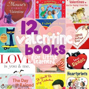 12 Valentines Books for Little Learners
