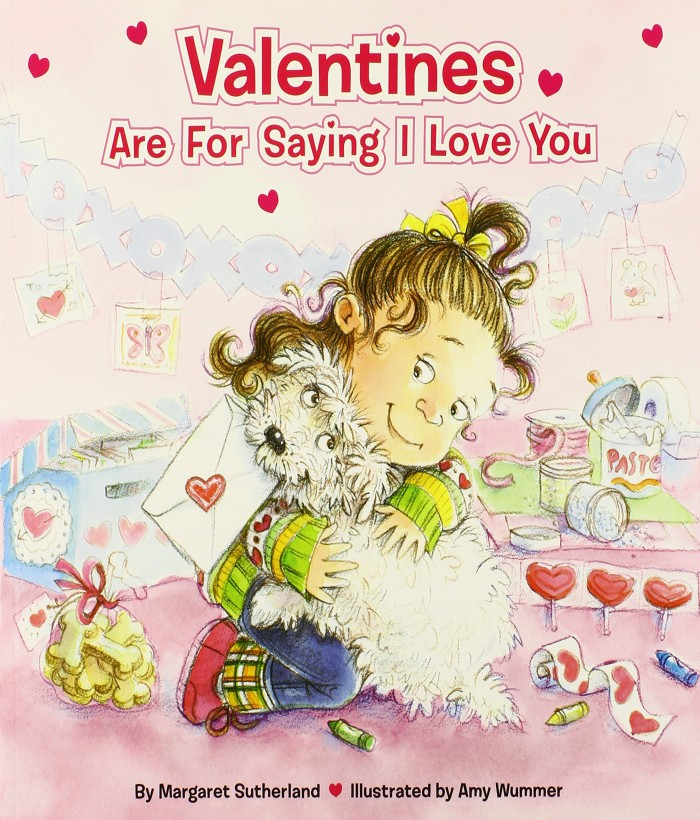 Valentine Books for Little Learners - Valentines Are for Saying I Love You