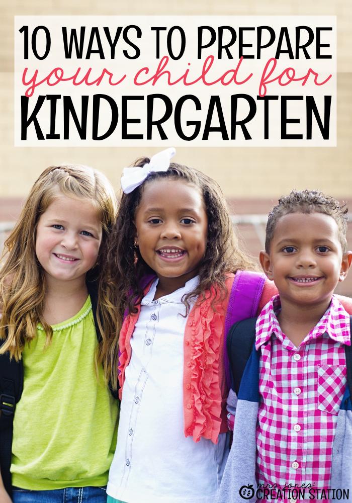 Prepare Your Child for Kindergarten - MJCS