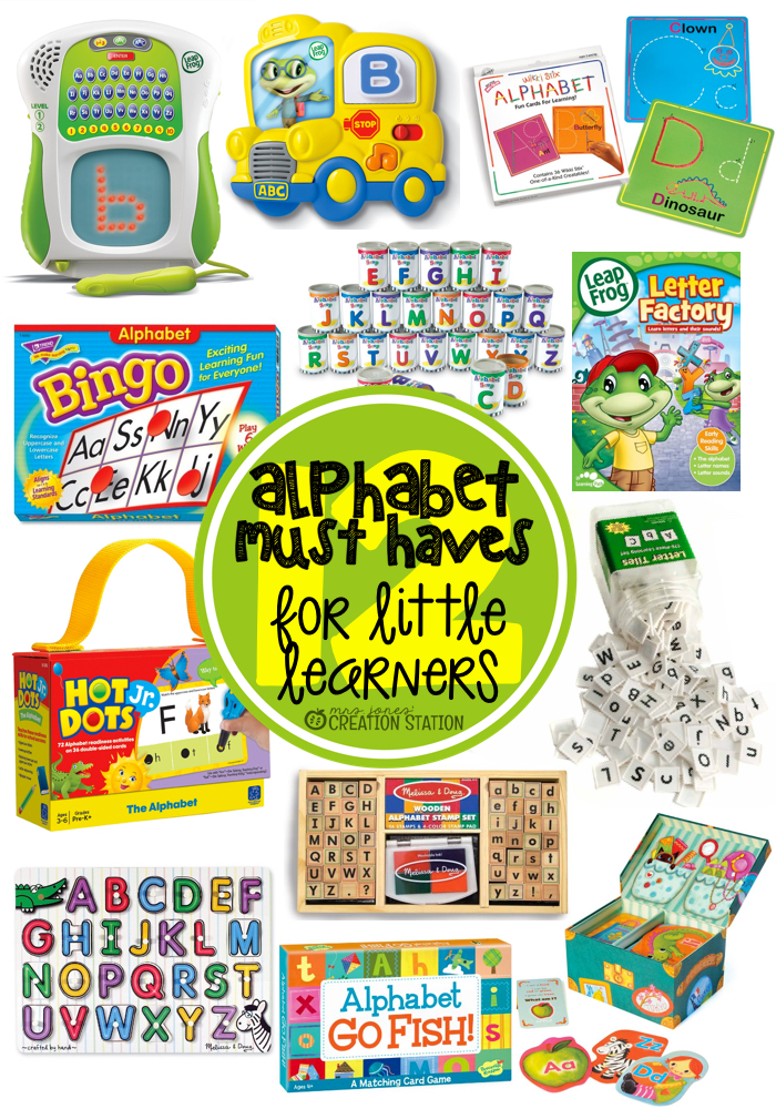 Alphabet Resources for Little Learners - MJCS