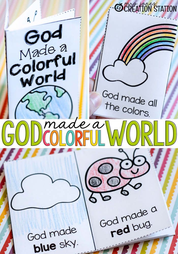 God Made a Colorful World FREE Reader