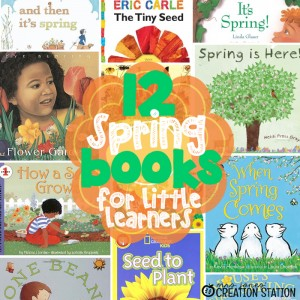 Spring Books for Little Learners