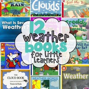 Weather Books for Little Learners -MJCS