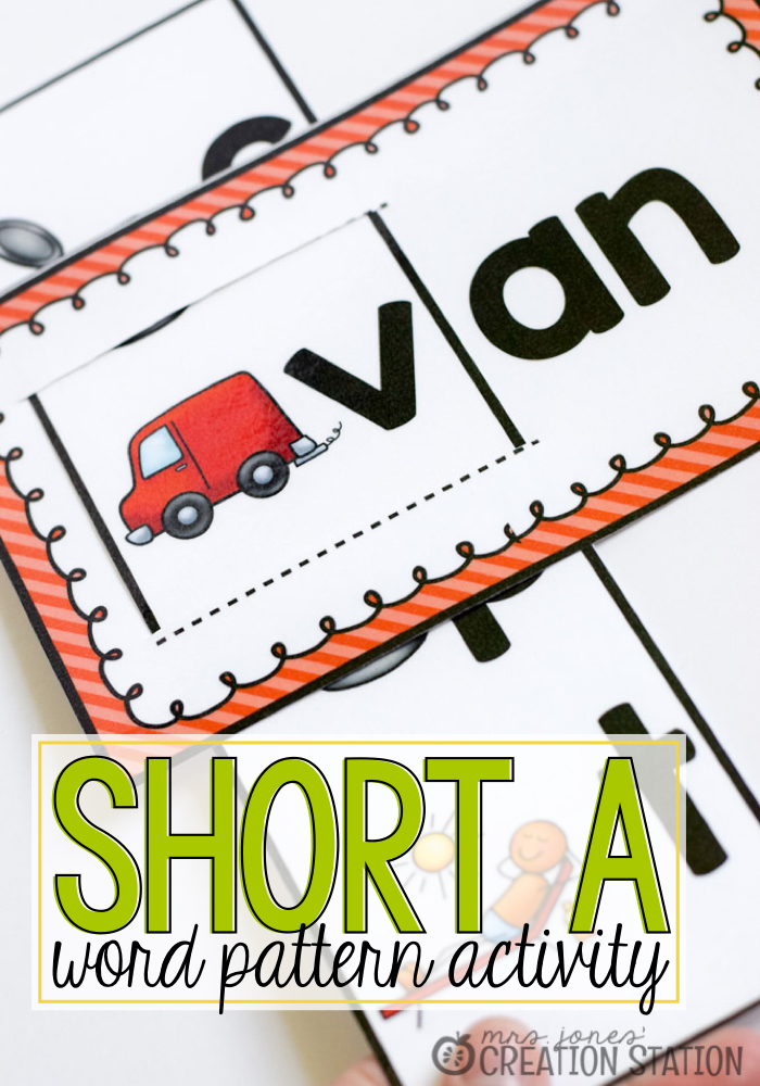 Learn to Read Short A Word Pattern