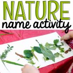 Nature Name Activity
