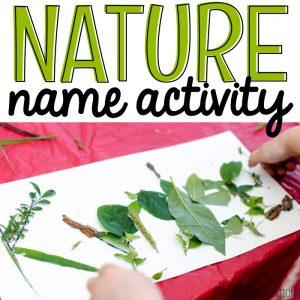 Camping Activity Nature Names - MJCS