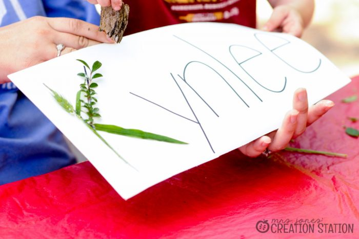 Natural Learning - Nature Name Activity - MJCS