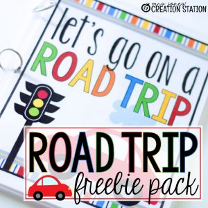 Road Trip Freebie Pack