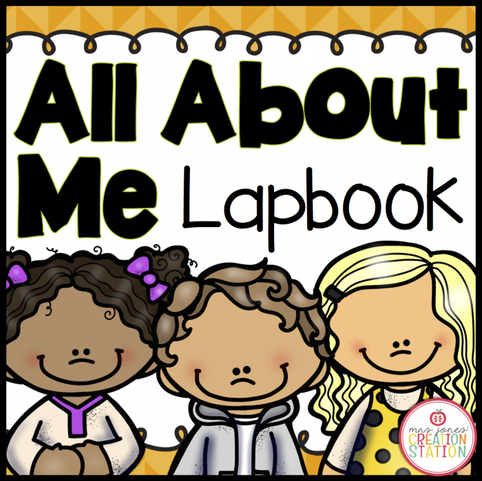 All About Me Lapbook on Teachers Pay Teachers