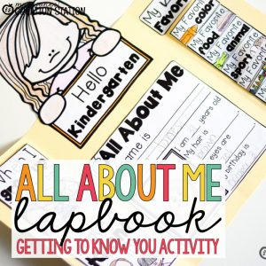 All About Me Activity - Lapbook from MJCS