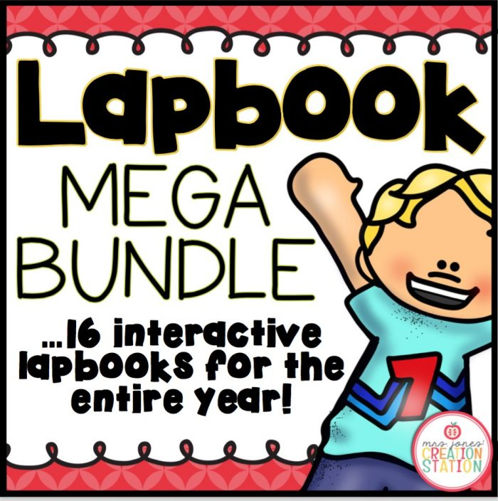 Lapbook Mega Bundle on Teachers Pay Teachers