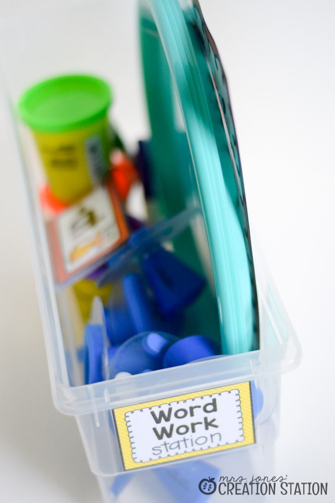 Word Work Stations with Oriental Trading - MJCS-11