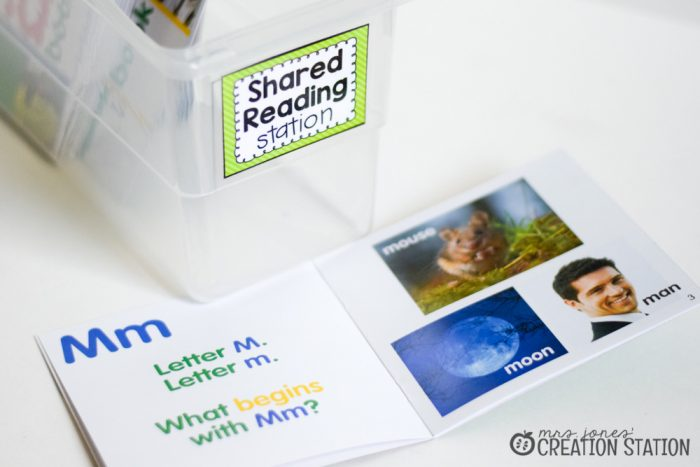 Word Work Stations with Oriental Trading - MJCS-19