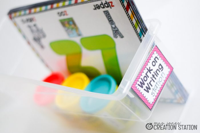 Word Work Stations with Oriental Trading - MJCS-20