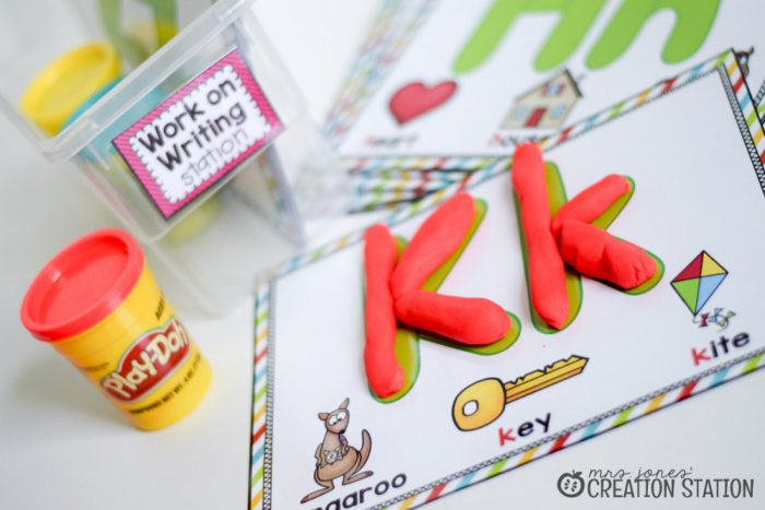 Word Work Stations with Oriental Trading - MJCS-22