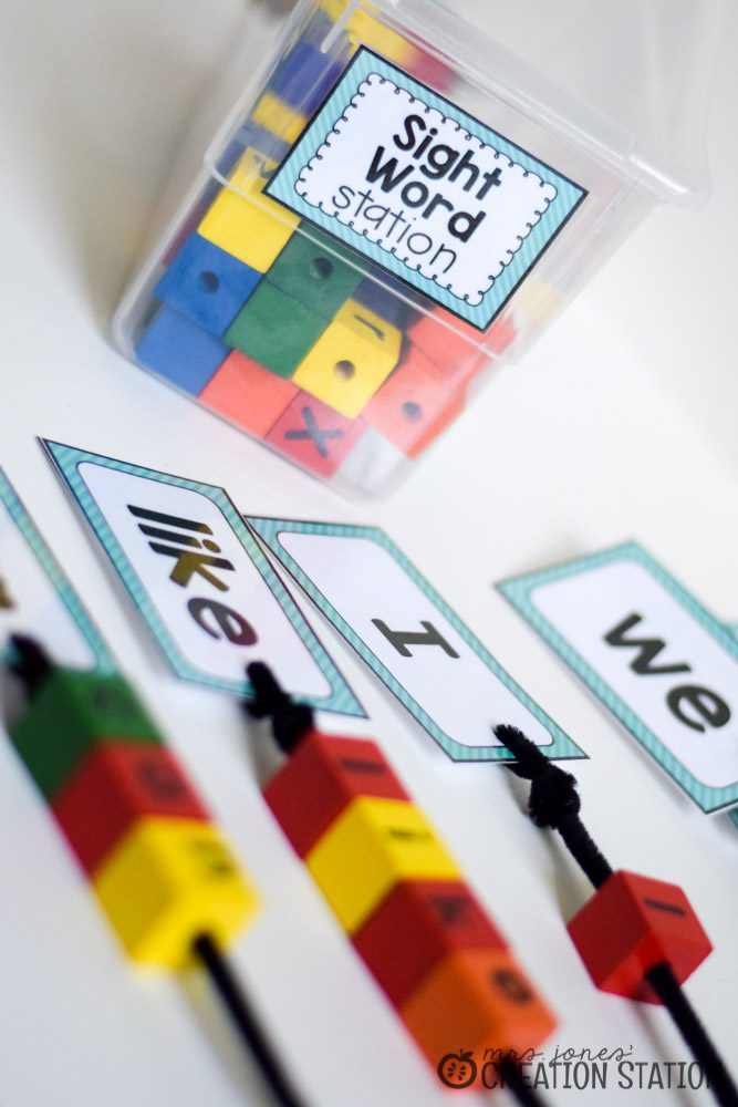 Word Work Stations with Oriental Trading - MJCS-3