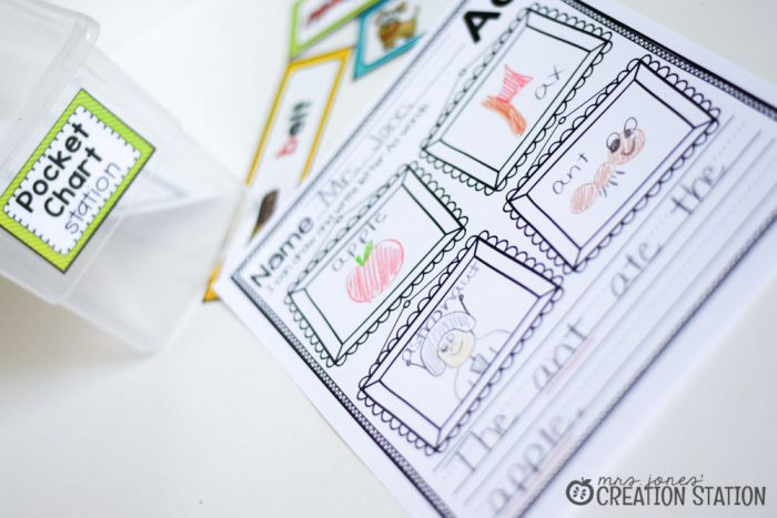 Word Work Stations with Oriental Trading - MJCS-30