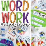 Word Work Stations Made Easy with Oriental Trading