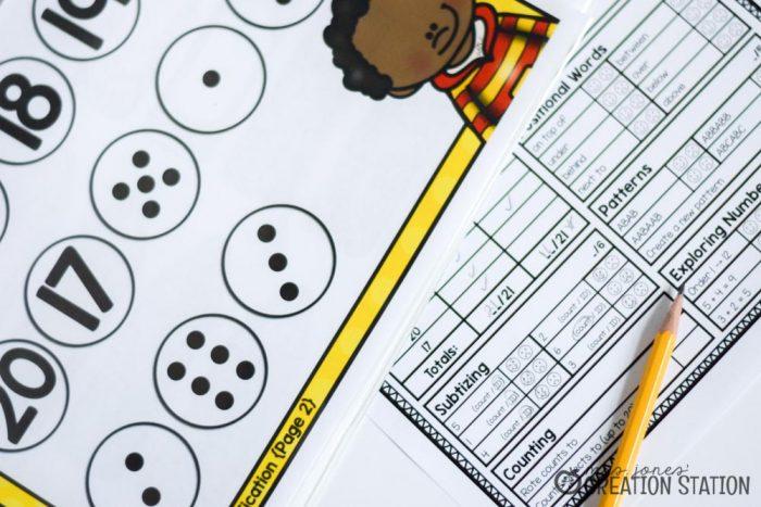 Beginning Math Skills Assessment - MJCS
