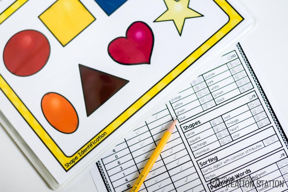 Beginning Math Assessment - Mrs. Jones\' Creation Station