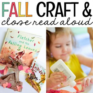 Fall Close Read Aloud and Fall Tree Craft - MJCS