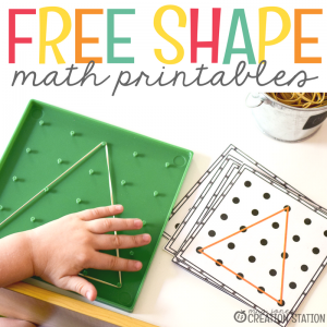 Free Shape Printables For Your Geometry Unit
