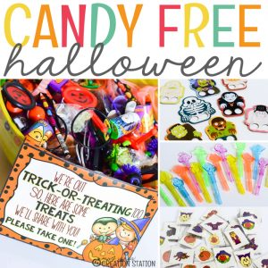 Candy Free Halloween With Oriental Trading