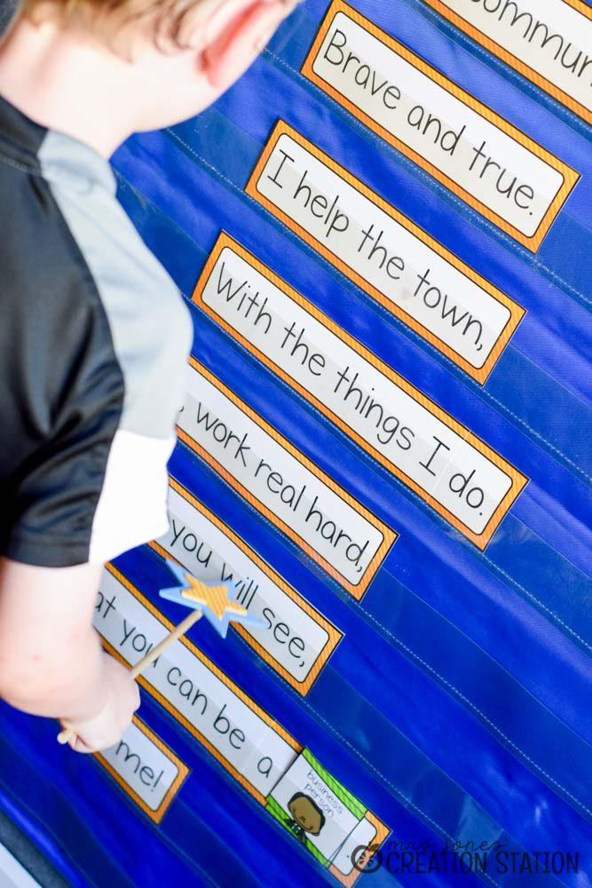 Community Helpers Interactive Poem - MJCS