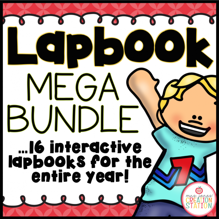 Lapbook Bundle for the School Year - MJCS