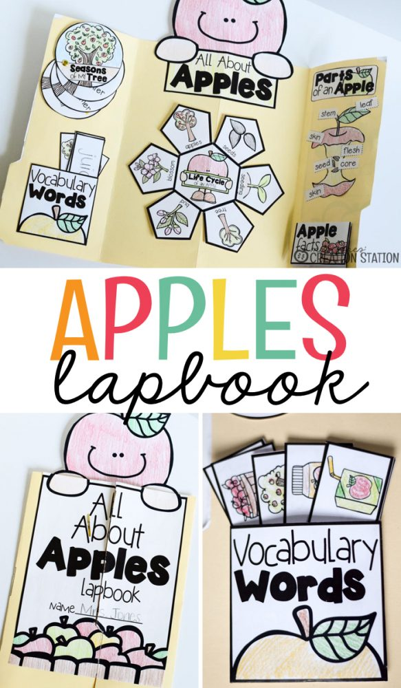 Apple Theme Lapbook