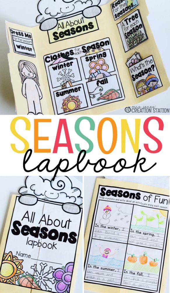 Seasons Lapbook