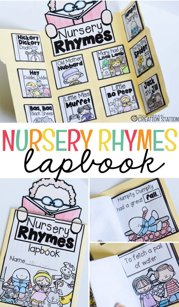 Nursery Rhyme Lapbook