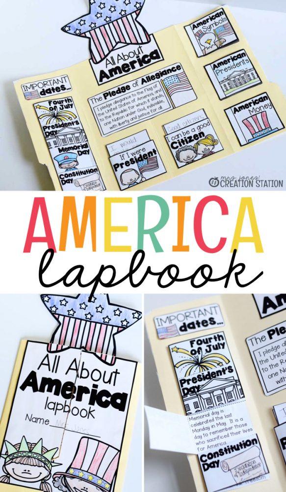 America Lapbook