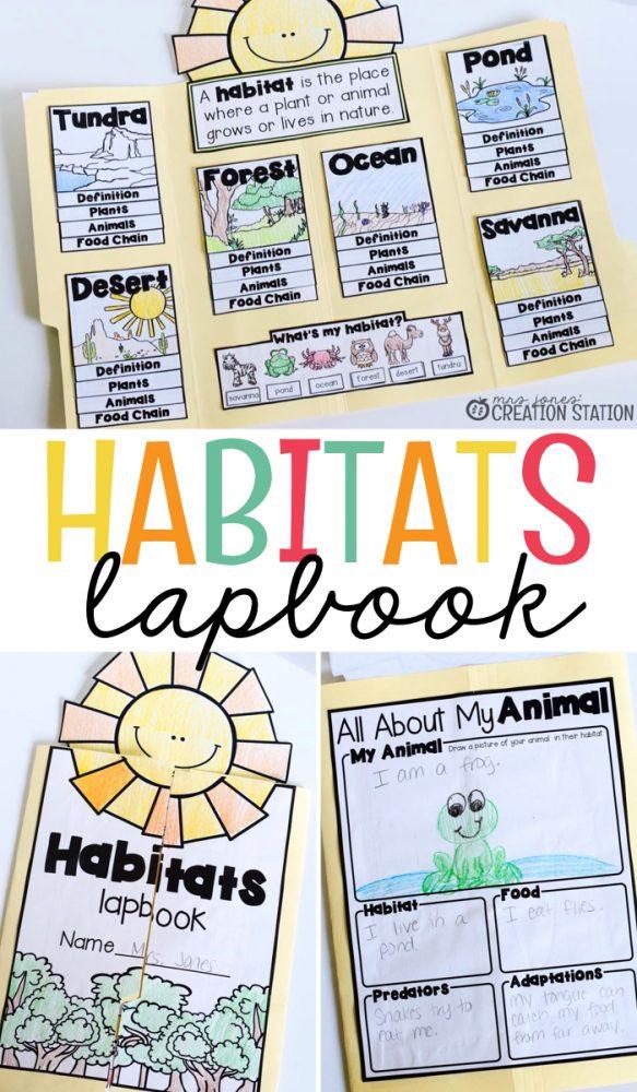 Habitats Lapbook