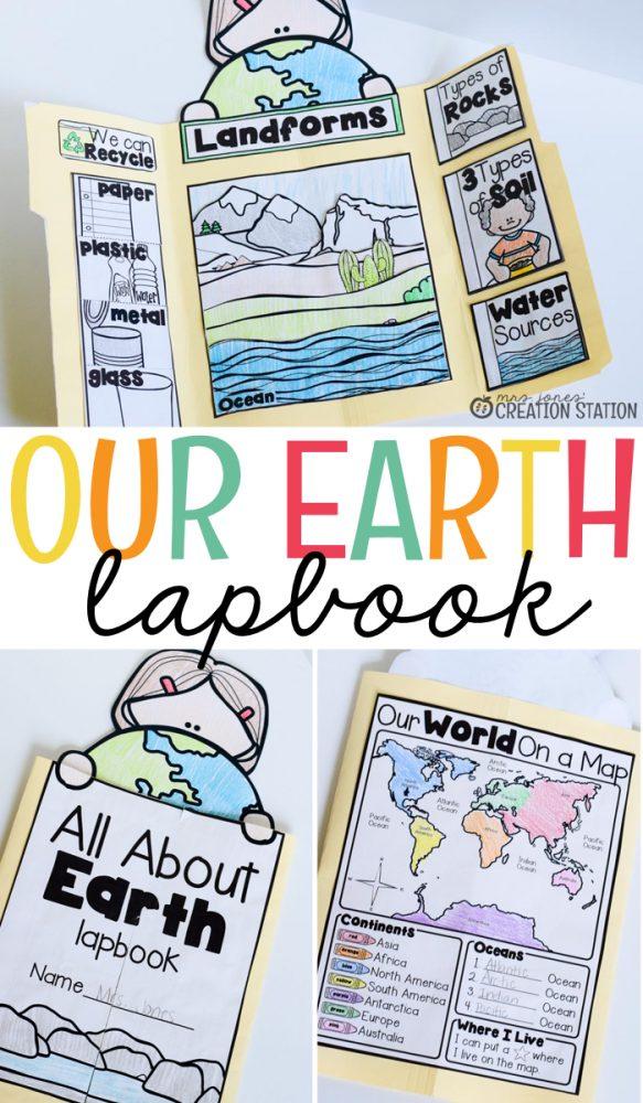 Earth Lapbook