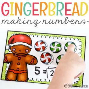 Gingerbread Math – Making Five