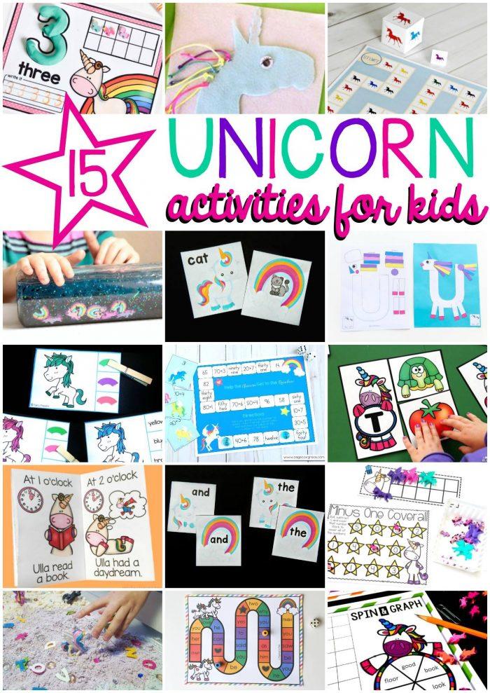Unicorn Activities for Kids