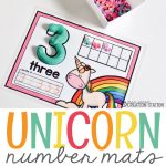 Unicorn Number Mats