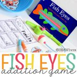 Fish Eyes Addition Math Game