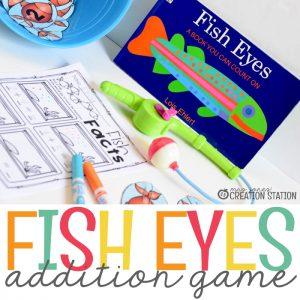 Fish Eyes Addition Math Game - MJCS