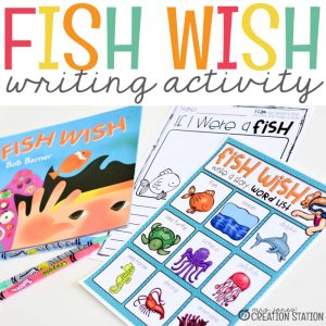 Fish Wish Writing Activity