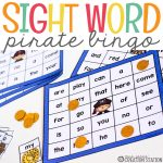 Pirate Sight Word Bingo