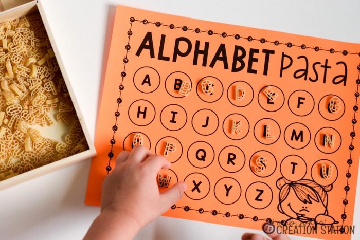 Alphabet Activity Matching Letters
