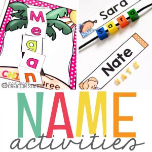 Name Activities for Little Learners