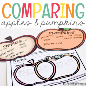 Apples and Pumpkins Reading Activity